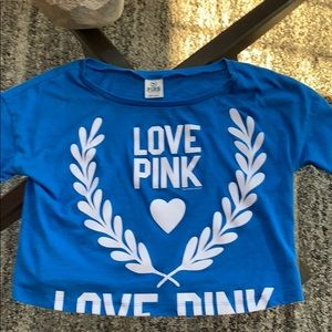 Pink Victoria's Secret Crop Top